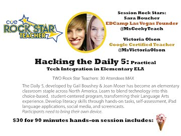 R1 - Hacking the Daily 5: Practical Tech Integration in Elementary Language Arts (Olson / Boucher)